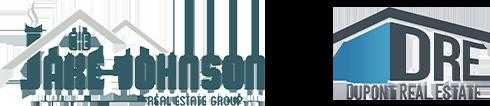 The Jake Johnson Group and Dupont Real Estate logos